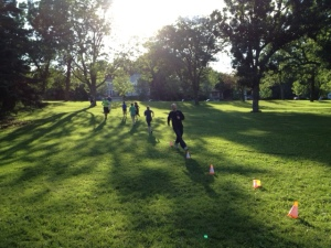 Hill Running at Boot Camp